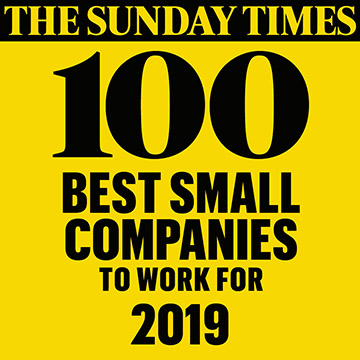 The Sunday Times Top 100 Companies to Work For logo