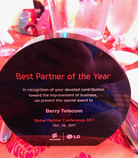Callcloud's Best Partner of the Year Trophy