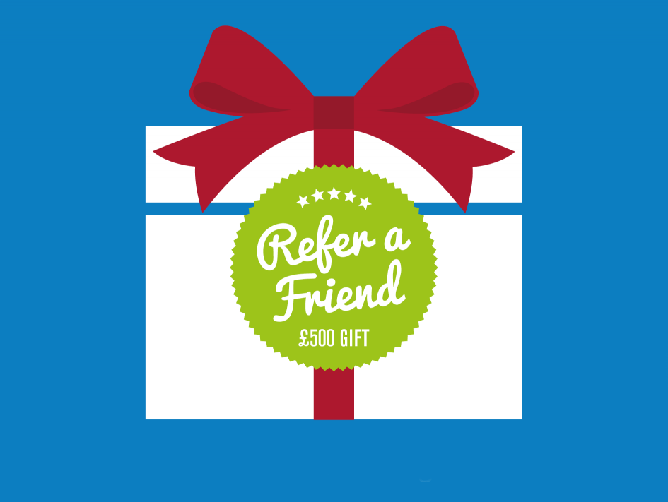 Refer a friend to Berry and get a £500 gift