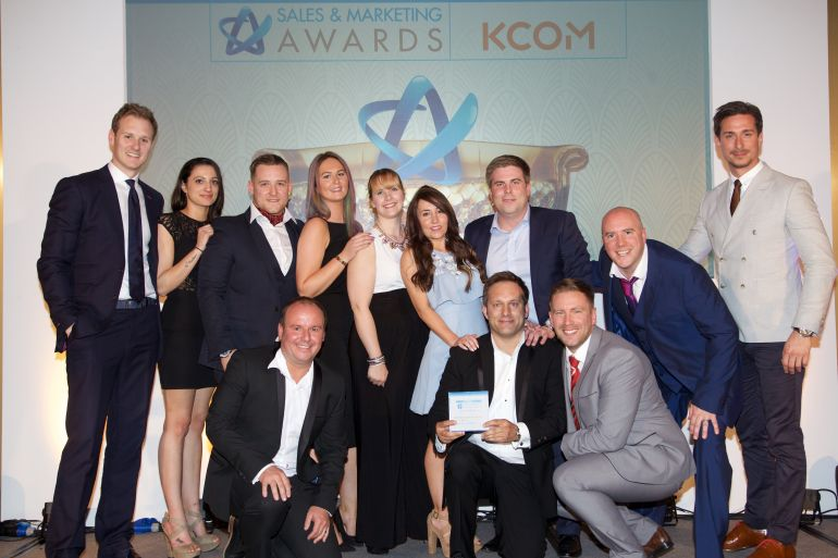 Sales Team of the Year 2016