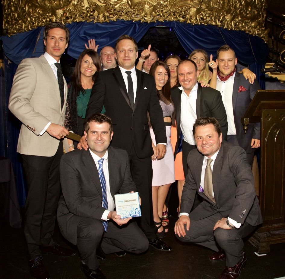 Comms Dealer Sales Team of the Year 2015