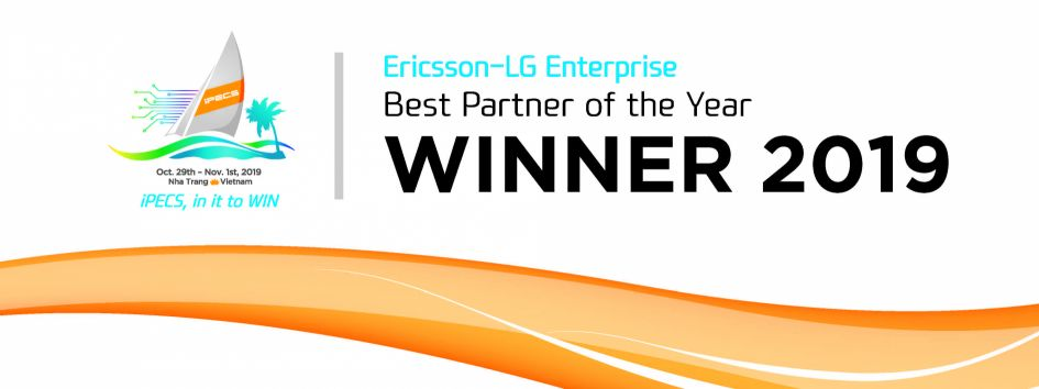 Ericsson-LG Best Partner of the Year 2019 Award logo