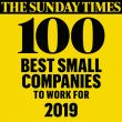 Sunday Times Top 100 Company to Work For 2019 Logo